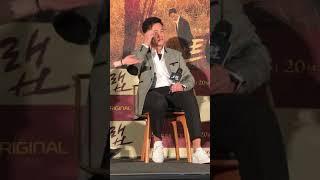 2019.1.31イ・ソジン 이서진 ドラマ「トラップ」試写会
